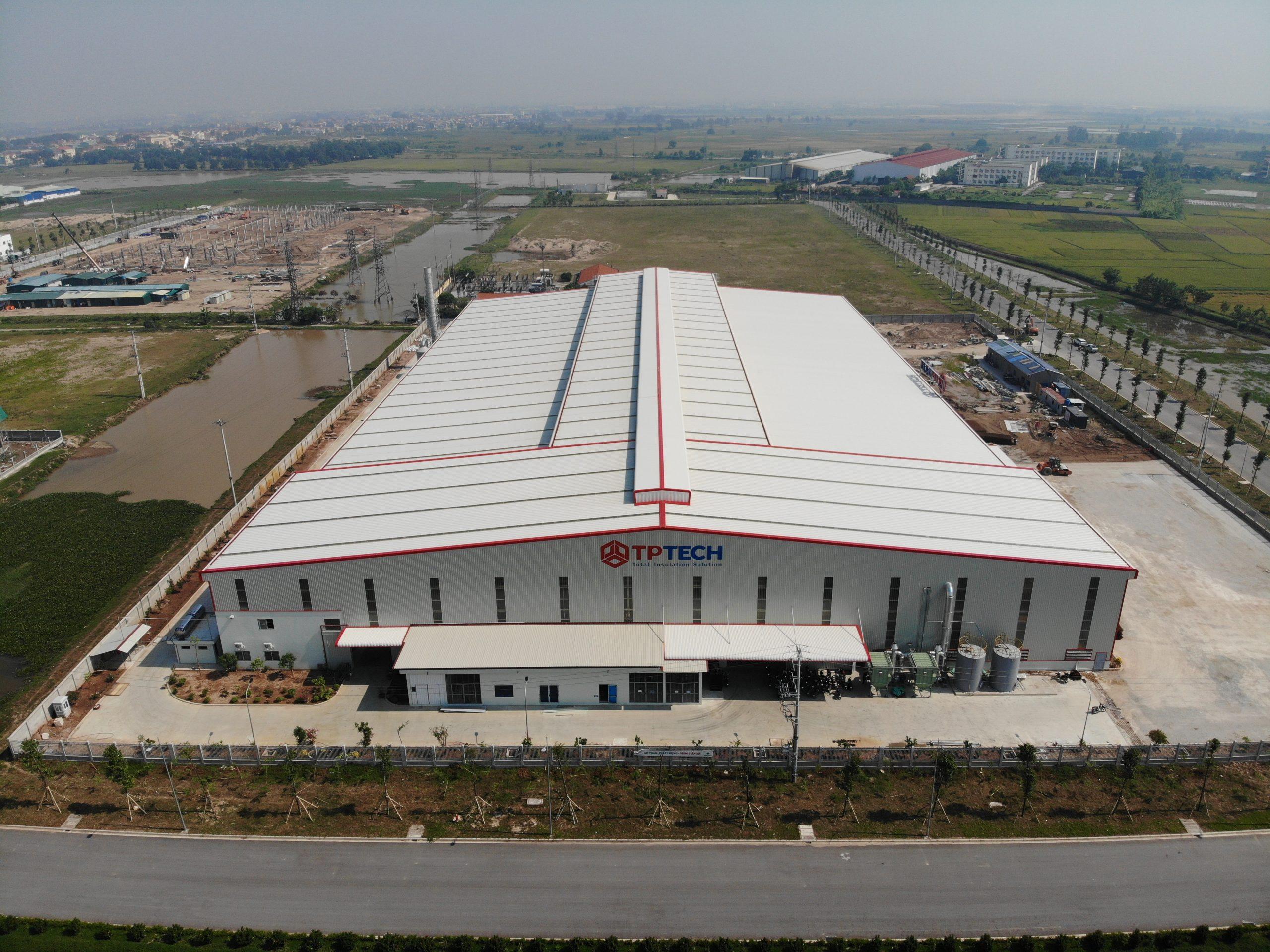 Nhà máy TPTECH tọa lạc tại KCN Yên Mỹ II, tỉnh Hưng Yên